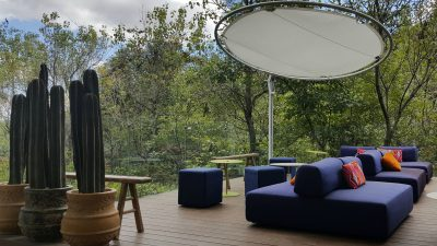 Outdoor Furniture NZ - Umbrosa Eclipsum Round Umbrella Natural