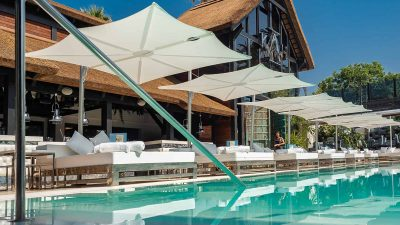Outdoor Furniture NZ - Umbrosa Spectra Parasol Umbrellas Natural