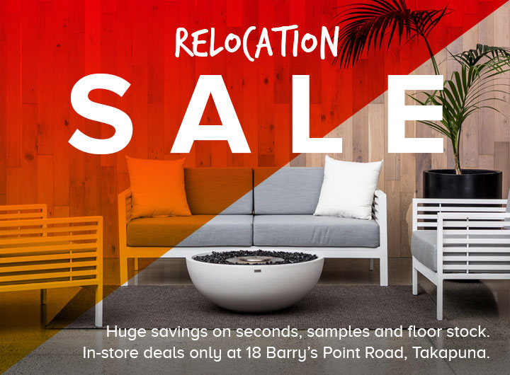 Outdoor Furniture NZ - Design Concepts - Relocation Sale