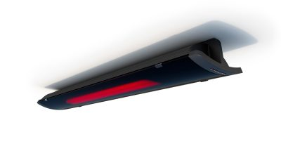 Pure 2400w Radiant Heater - Black