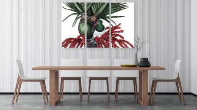 Outdoor Art - Kereru Triptych