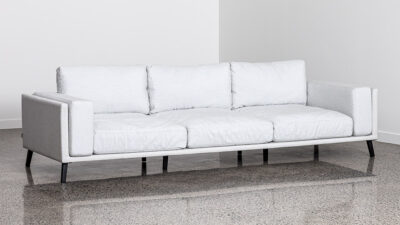 Outdoor Lounge Suites NZ - Kapiti Triple Sofa White Angle